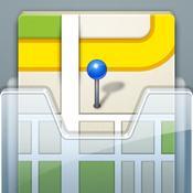 App Icon: OffMaps 2 - Offline Karten für Paris, London, Berlin, New York & mehr 2.22