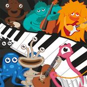 App Icon: Kids Piano Games PRO