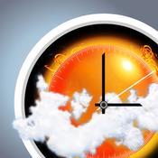 App Icon: eWeather HD - 10-Tage-Wettervorhersage, Warnungen und Sturm tracker, Wetter für Jahr 3.5