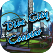App Icon: Dive City Rollercoaster