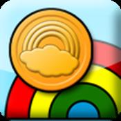 App Icon: Glücklicher Regenbogen
