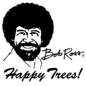 App Icon: Bob Ross for iPhone 1.0.1