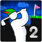 App Icon: Super Stickman Golf 2