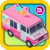 App Icon: Ice Cream Truck Kids Vehicles