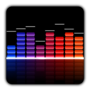 App Icon: Audio Glow Live Wallpaper