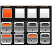 App Icon: Electrum Drum Machine