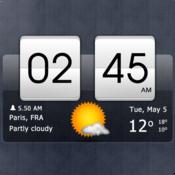 App Icon: Sense flip clock & weather