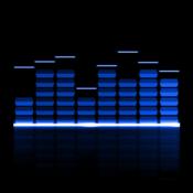 App Icon: Audio Glow Music Visualizer