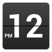 App Icon: Retro Clock Widget