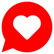 App Icon: JAUMO Flirt Chat
