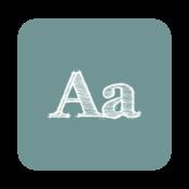 App Icon: FontFix ― Install Free Fonts