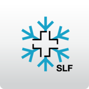 App Icon: White Risk - SLF Lawinen-App