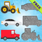 Fahrzeuge Puzzles für Kinder!
