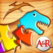 App Icon: Meine ersten Puzzlespiele: Dinosaurier - ein Bildungs-Puzzle-Spiel für Kinder 5.0