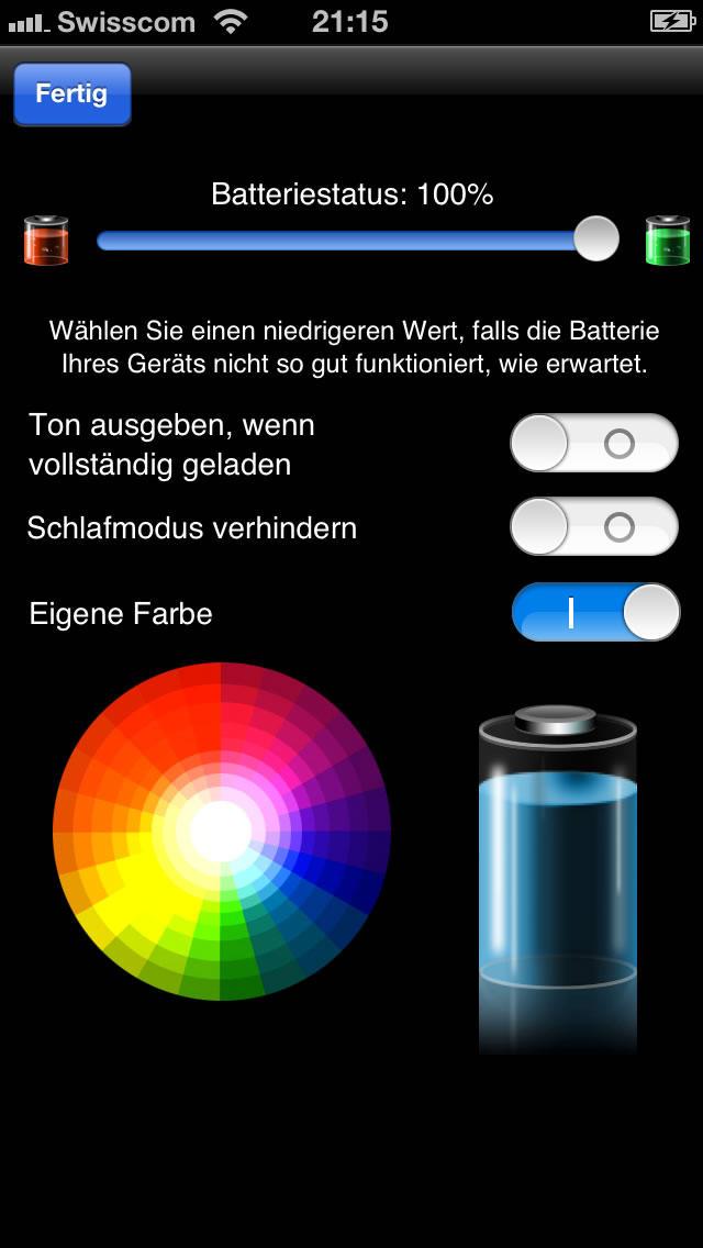 akku batterie hd monitor iphone ipad app chip. Black Bedroom Furniture Sets. Home Design Ideas