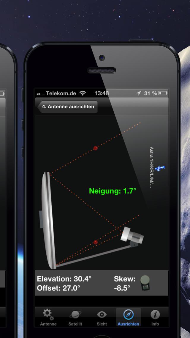 satfinder iphone ipad app chip. Black Bedroom Furniture Sets. Home Design Ideas