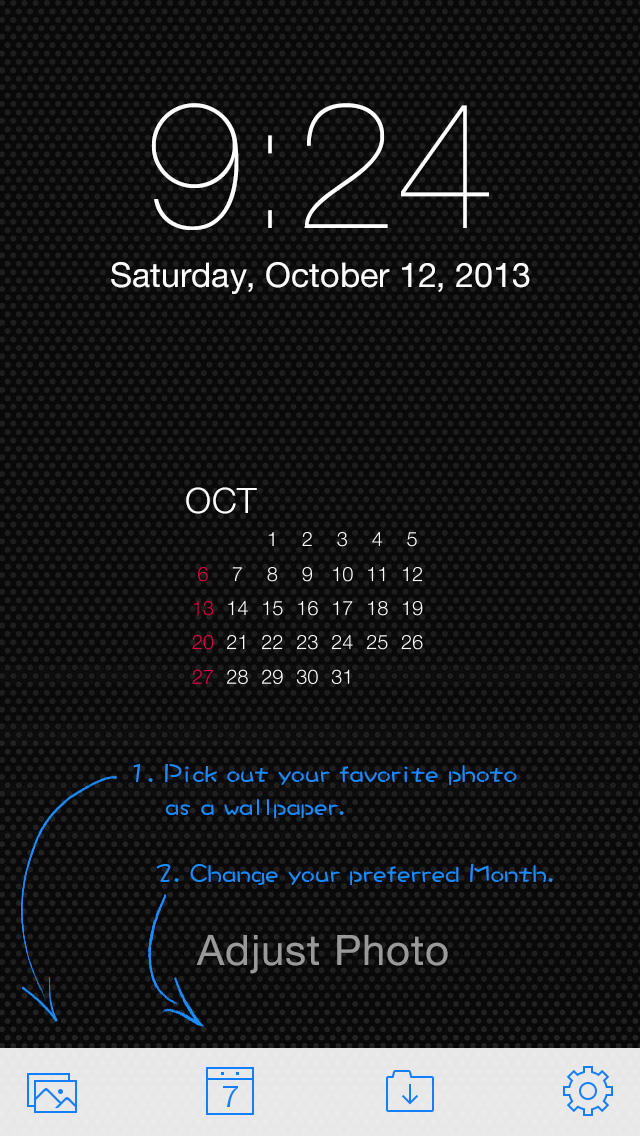 Calendar Lockscreen : Lock screen calendar kalender auf den holen