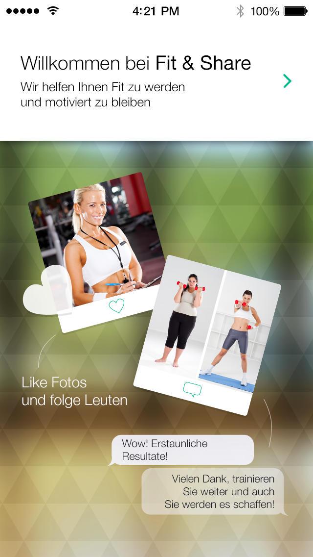 fitness f r frauen trainings app mit bungen und fitness workouts iphone ipad app chip. Black Bedroom Furniture Sets. Home Design Ideas